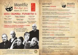 Flaer Montfiz Art Fest 2011